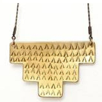 Brass Fashion Necklace