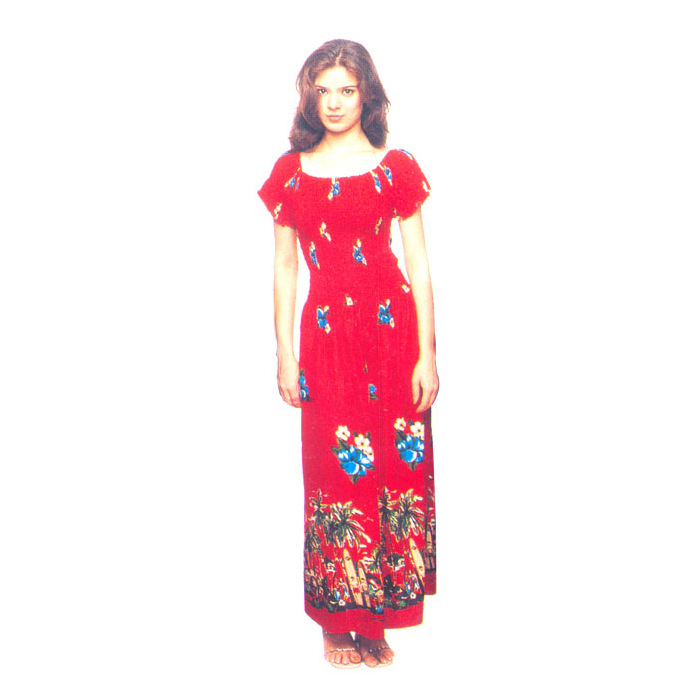 Casual Sundress Long Wear In Rayon Fabric Manufacturers