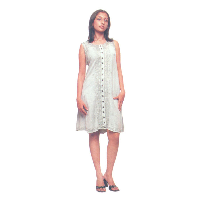 Plus Size Dress Manufacturers Rayon Sundresses With Sleeves For