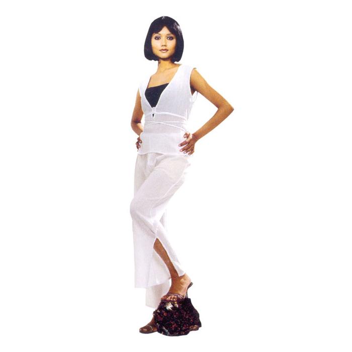 Elastic Waist Skirt Sets In Rayon Fabric