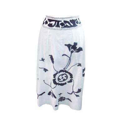 Casual Women Skirts Cotton Fabric
