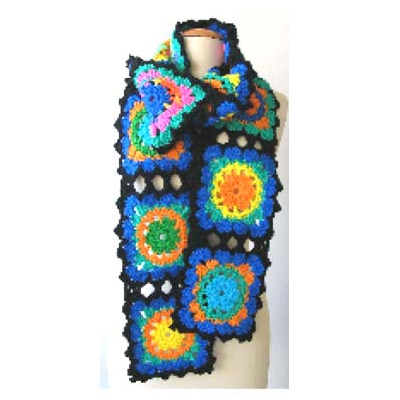 100% Wool Women's Scarf