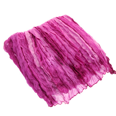Beautiful And Large Pink Silk Scarf