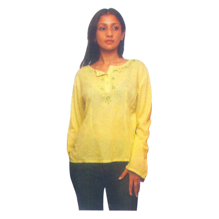 Cotton Ladies Top Fro Womens