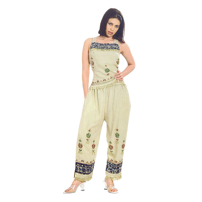 Capri Sets Rayon, Women Rayon Sleeveless Capri Sets From India ...