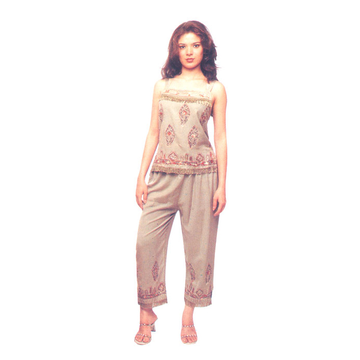 Capri Set Pant Sets In Rayon Fabric For Ladies