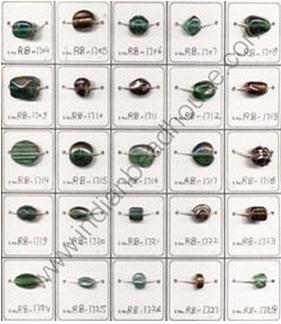 Colored Rainbow Glass Beads