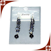 Designer Glass Beads Earring