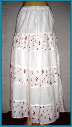 Designer Long Shifley Skirt