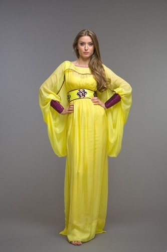 Arabic Designer Ladies Kaftan