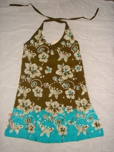 Batik Kids Short Dress