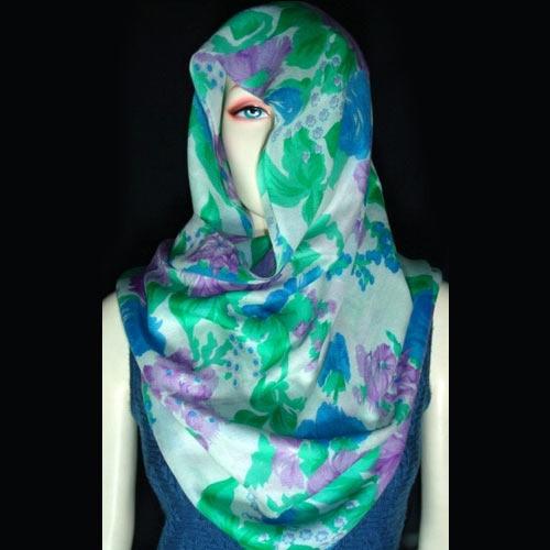 Kashmiri Screen Printed Fabrics