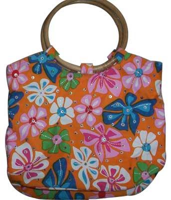 Designer Cotton Ladies Bags